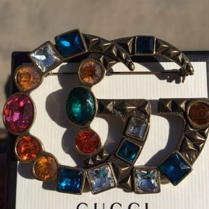 Authentic Gucci Brooch